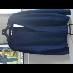 Vince cashmere Vneck with buttons sweater. $395